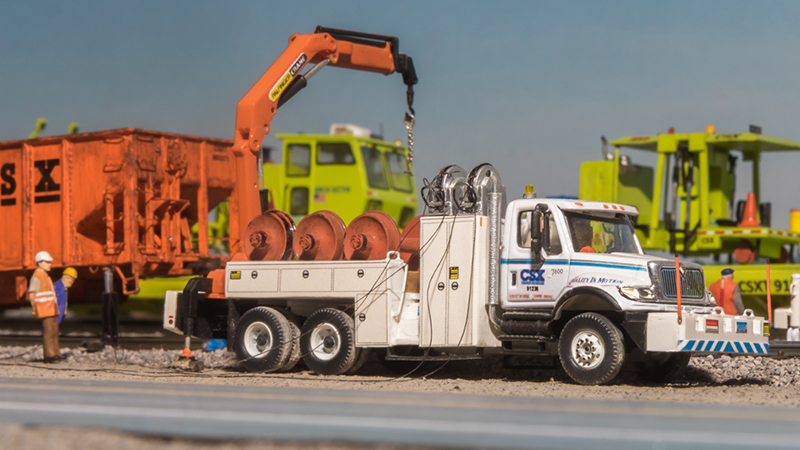 CSX Transportation International 7600 Wheel Change Out Truck - By Jesse Weigand