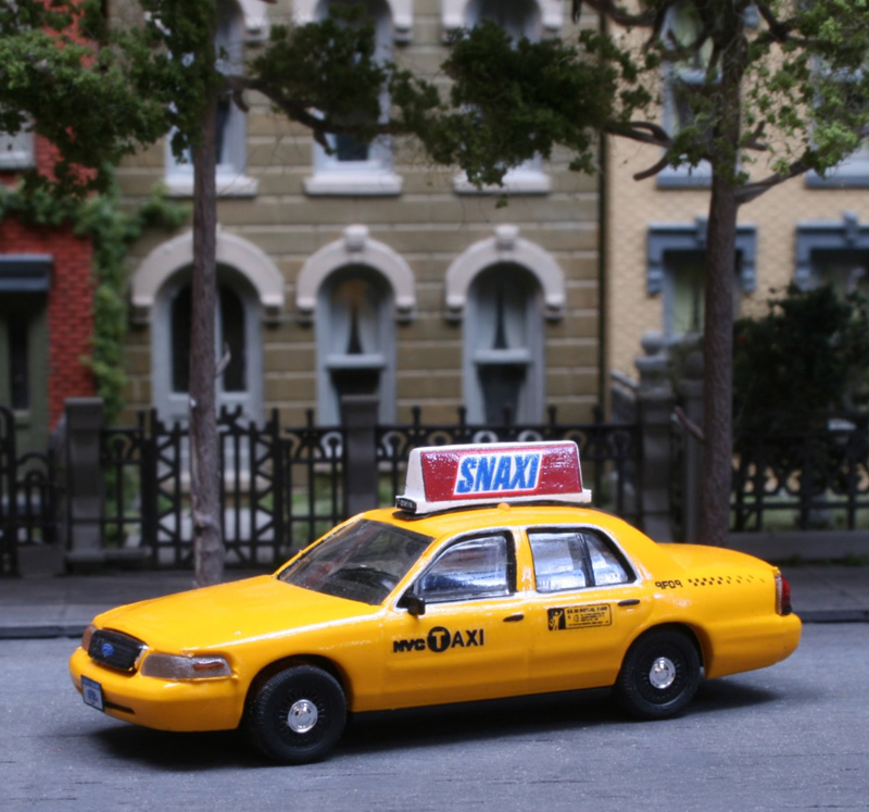 Ford Crown Victoria New York City Taxi