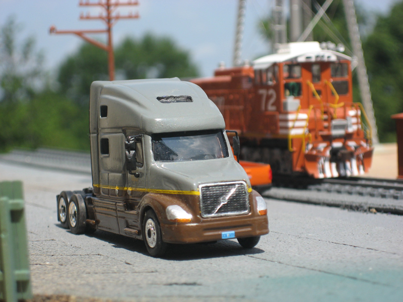 UPS Freight Volvo VNL780 Truck Tractor