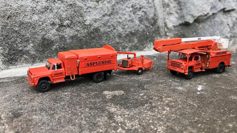 Asplundh Ford F-600 & F-750 Tree Trimming Trucks - By John ...
