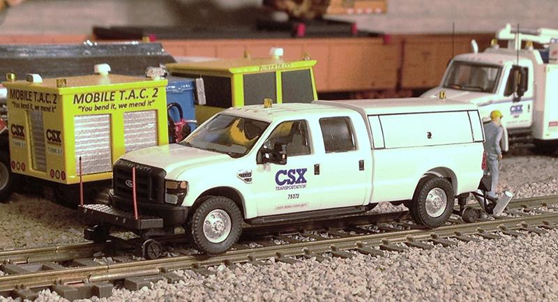 Csx Ford F 350 Rail Flaw Detector Truck