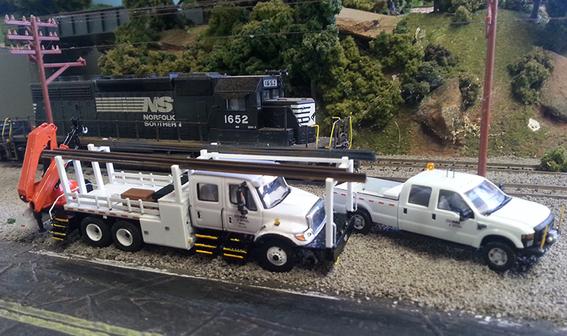 Norfolk Southern International 7600 MoW Truck