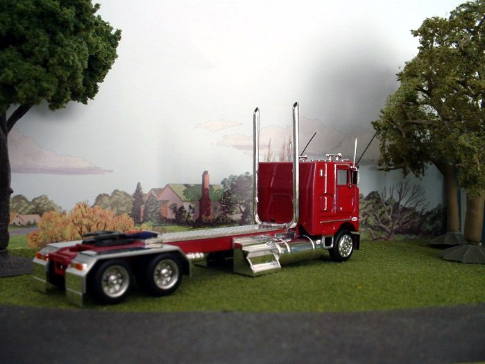 Peterbilt 362 Long Wheelbase Truck Tractor