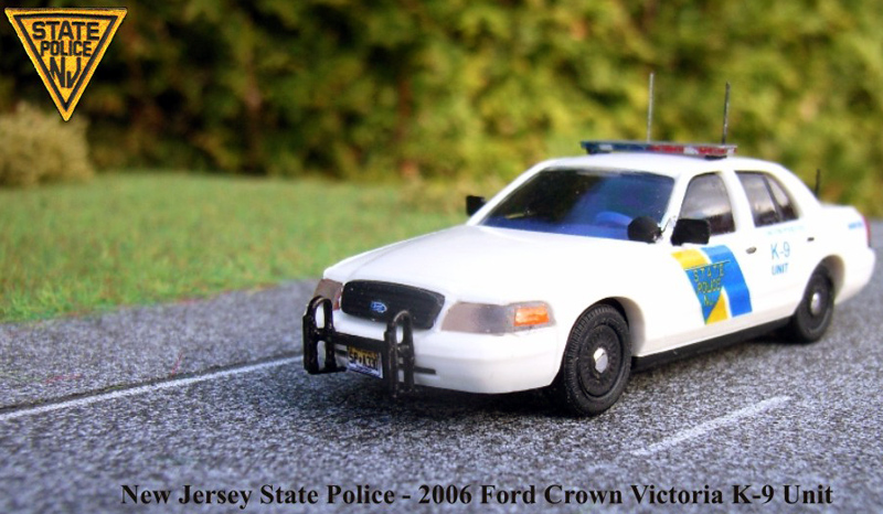Police Car Web Site >> New Jersey State Police Ford Crown Victoria K-9 Unit