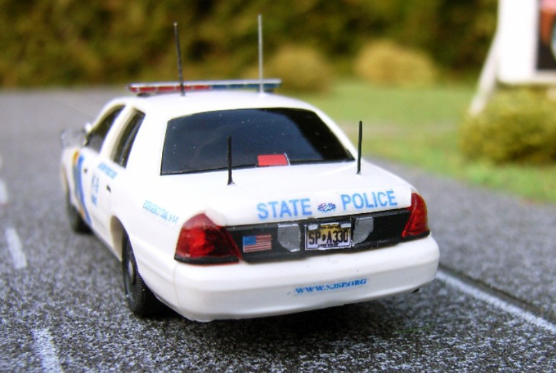 ST Cop Car Collection 1:87 Ford Crown Victoria State Police N.J