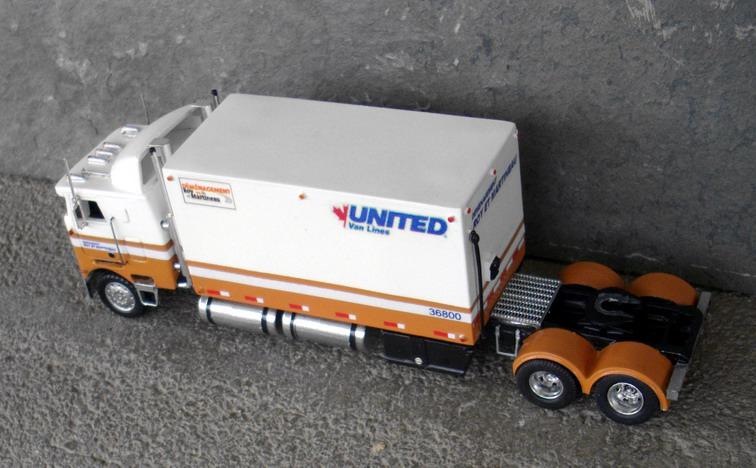 United Van Lines Western Star Coe Truck Tractor  U0026 Moving Van